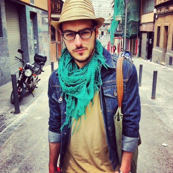 Hipster dude